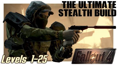 Creating the Epic Sneak Character in Fallout 4 🐱👤 Best