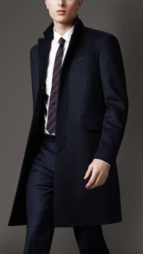 Wool Cashmere Topcoat | Mens outfits, Cashmere, Menswear