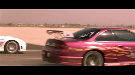FAST and FURIOUS - Race Wars / Letty Race (240SX vs RX7