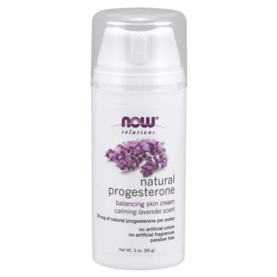 NOW NOW Natural Progesterone Balancing Skin Cream with