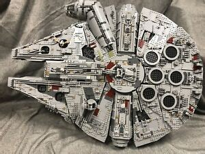 Vertical Stand for 75192 UCS Millennium Falcon-100%
