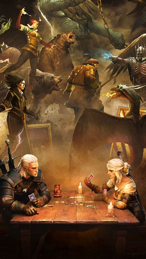 Wallpaper Gwent: The Witcher Card Game, PlayStation 4