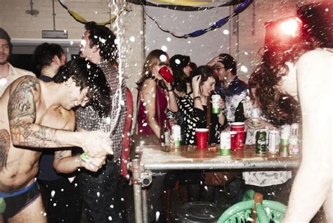 The Last Hour of a House Party at Illinois State University