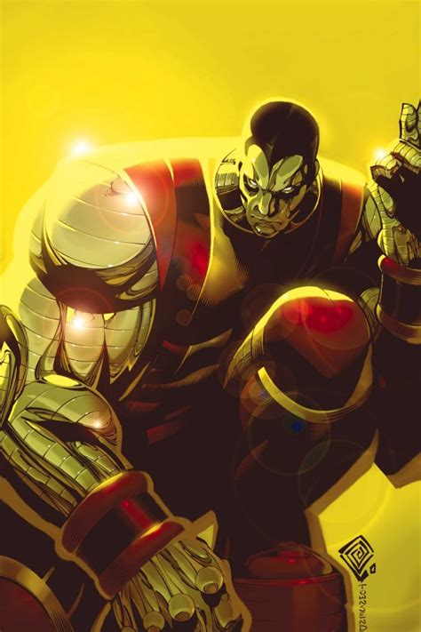 Comic Book Art: Colossus by Chris Bachalo and Tim Townsend