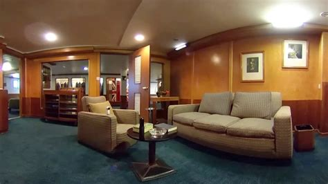 RMS Queen Mary - Captain's Quarters, Engine Room, and More