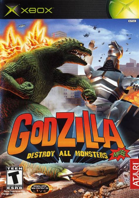 Godzilla Destroy All Monsters Melee Xbox