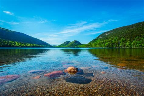 There's Something Magical About These 11 Maine Lakes