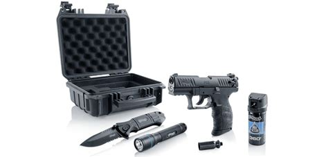 """Walther P22Q """"Ready 2 Defend"""" Kit - Blank Gun, Pepper"""