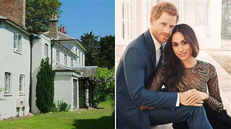 Prince Harry and Meghan Markle are moving house to