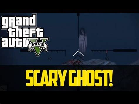 SCARY GHOST EASTER EGG GTA 5 - Best Grand Theft Auto 5