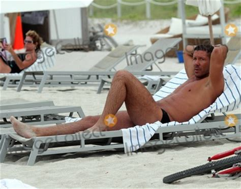 Photos and Pictures - Diego Simeone and wife Carolina