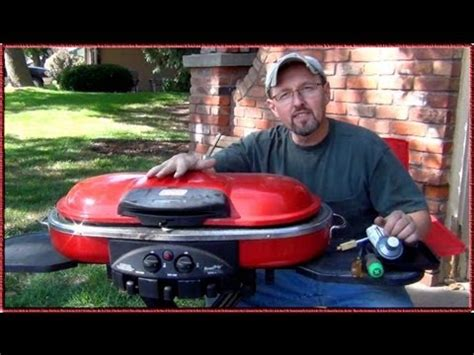 How to Restore a Trashed Coleman RoadTrip Grill - YouTube