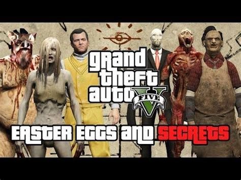 GTA 5 All NEW Easter Eggs And Secrets (2019) - YouTube in