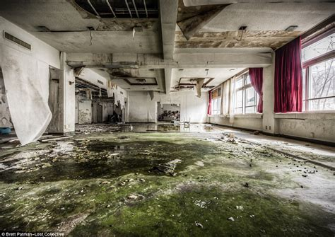 Images show abandoned Japanese school left to crumble into