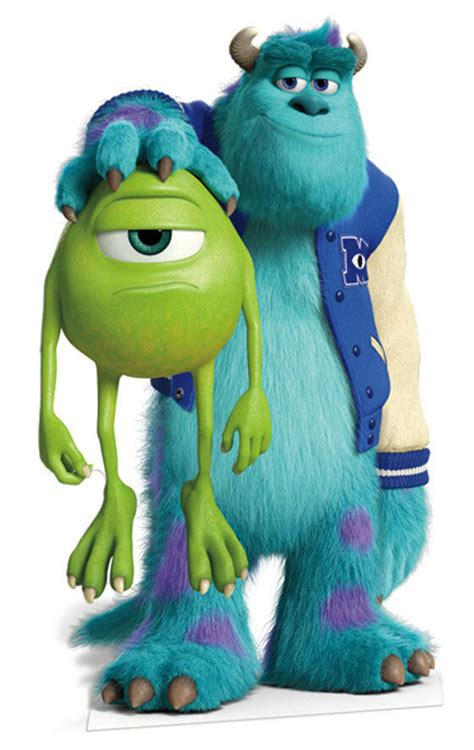 Mike and Sulley Monsters University Inc LIFESIZE CARDBOARD
