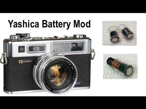 Modify Battery For Yashica Electro 35 GSN Film Camera And