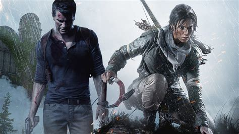 Rise of the Tomb Raider vs Uncharted 4 Debate - IGN