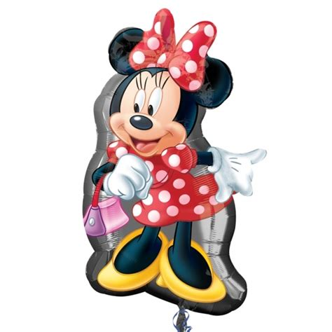 'Minnie Mouse Red Bow' Supershape Foil Balloon
