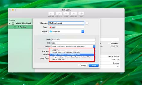 How to create blank disk images with Disk Utility