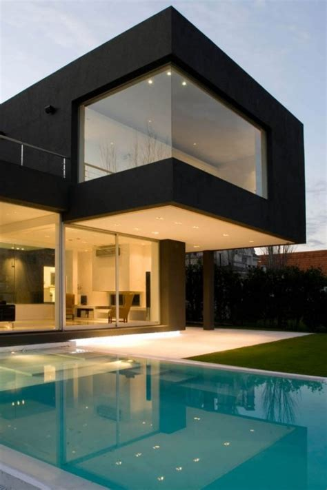 The Black House for Young Couple - Casa MCK - DigsDigs