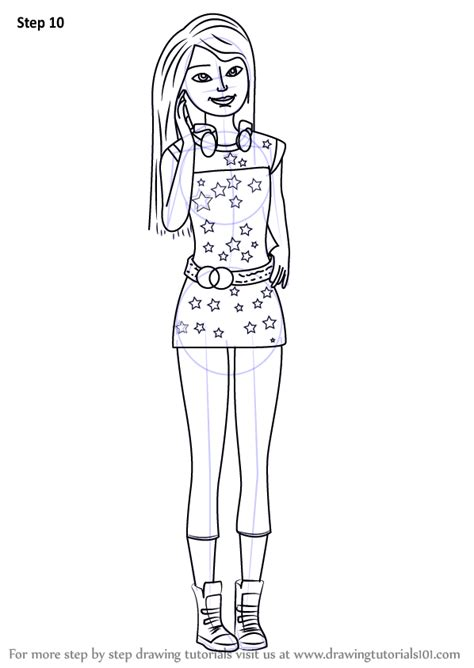 Learn How to Draw Skipper from Barbie Life in the