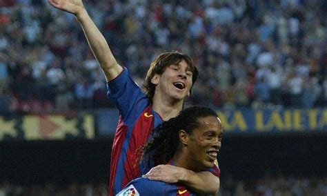 Video: Messi scores his first goal for Barcelona in 2005