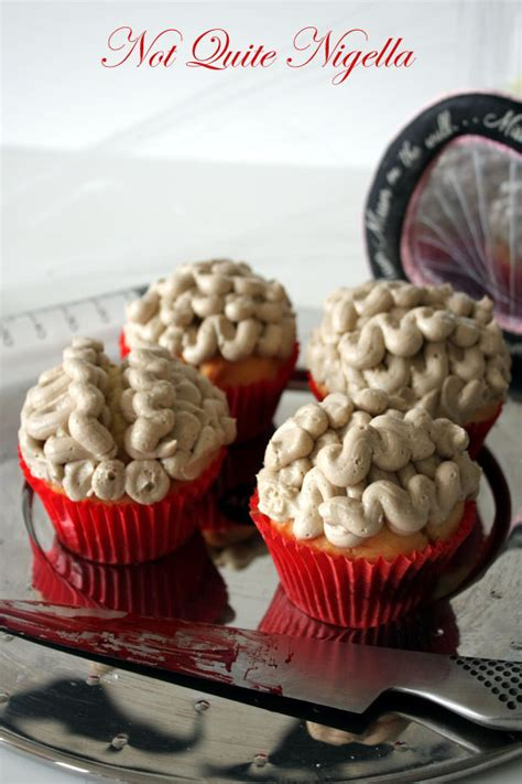 Blood Clot And Brain Cupcakes · How To Decorate A Body