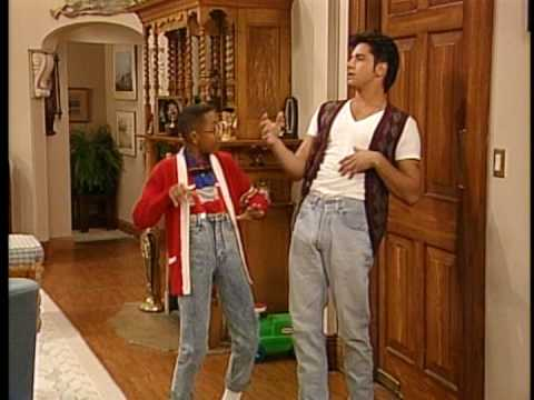 Uncle Jessie and Steve Urkel Walking on a Dream - YouTube