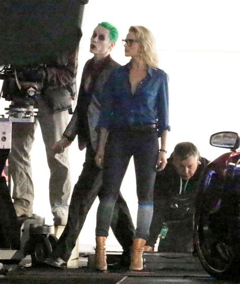 """Video & Pics of The Joker and Harley Quinn in """"Suicide"""