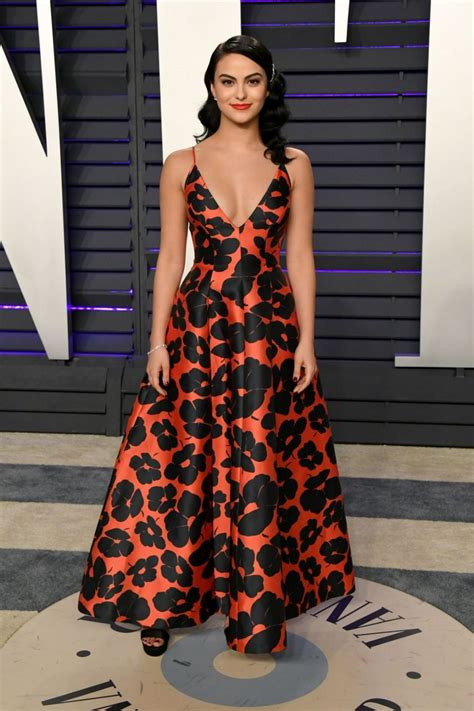 CAMILA MENDES at Vanity Fair Oscar Party in Beverly Hills