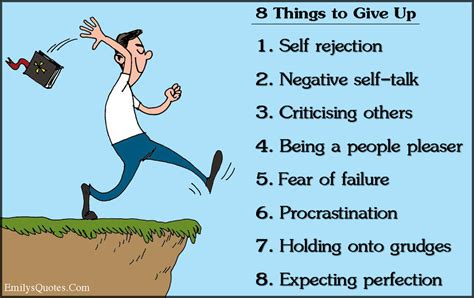 8 Things to Give Up 1