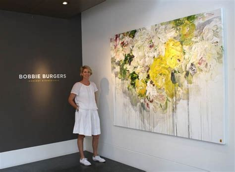 Bobbie Burgers in Caldwell Snyder Gallery Just discovered