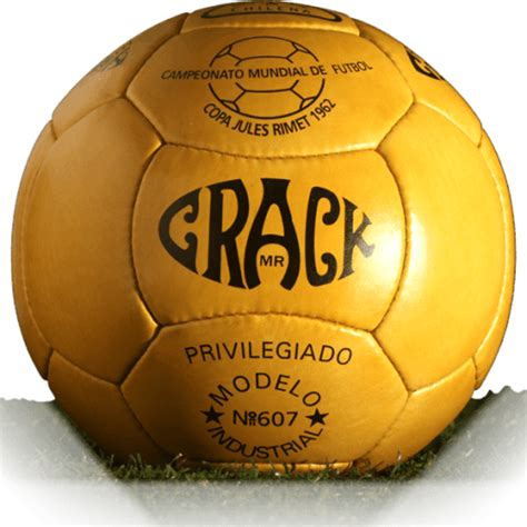 Crack Top Star is official match ball of World Cup 1962